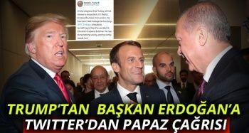 Trump, Türkiye'de tutuklu papaz için Başkan Erdoğan'a çağrıda bulundu