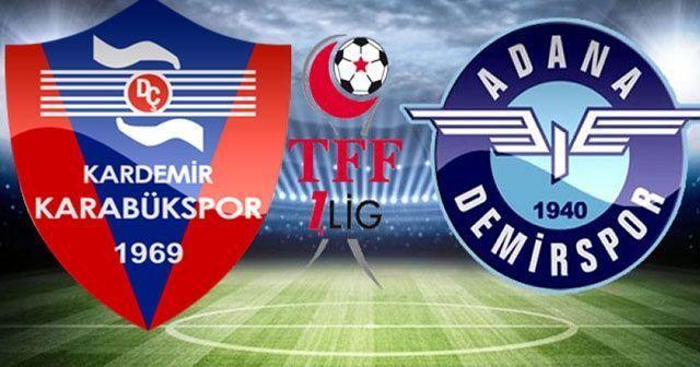 Kardemir Karabük - Adana Demirspor maçı canlı izle!