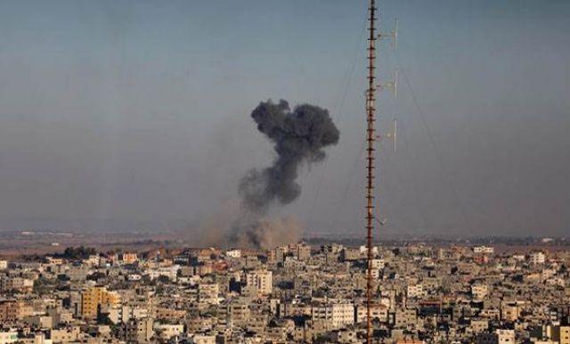 İsrail yine saldırdı