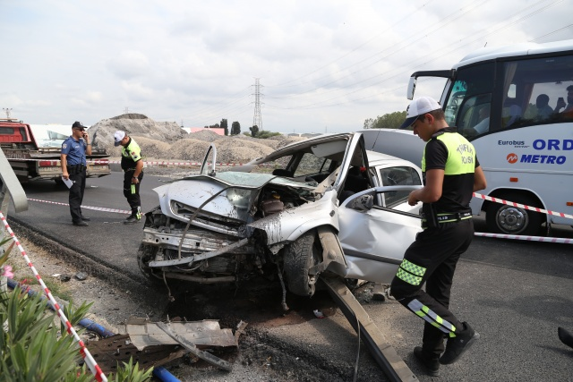 Korkunç kazada dikkat çeken detay