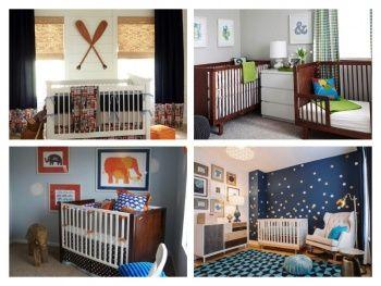 Eğlenceli Ve Rahat 20 En Güzel Erkek Bebek Odası Dekorasyon Önerisi