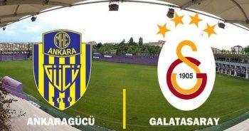 Ankaragücü Galatasaray Maçı canlı skor kaç kaç