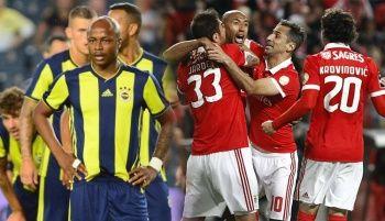 Benfica - Fenerbahçe maçı özeti golleri izle! Fenerbahçe'nin Şampiyonlar Ligi maçı özeti