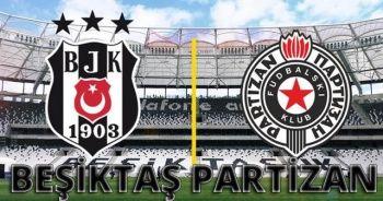 Beşiktaş Partizan maçı canlı izle