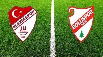 Elazığspor Boluspor maçı canlı izle   Elazığ Bolu maçı canlı skor kaç kaç?