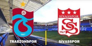 Trabzonspor - Sivasspor maçı şifresiz canlı izle! TS Sivas maçı kaç kaç?
