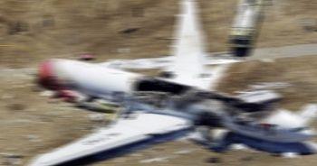 Ülke şokta! Askeri uçak düştü