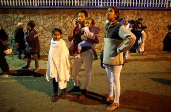 Venezuela 7,3 büyüklüğünde depremle sarsıldı