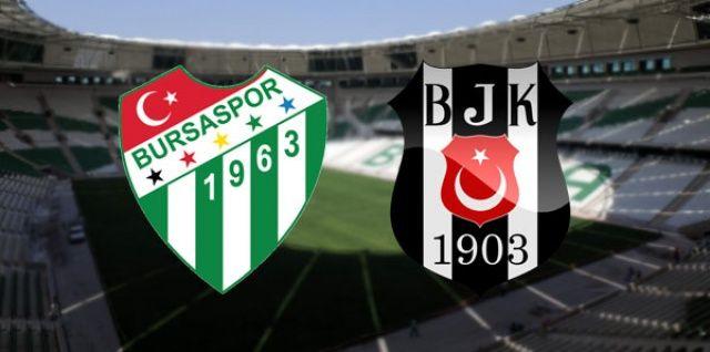 Bursaspor Beşiktaş maçı canlı izle! Şifresiz veren kanallar