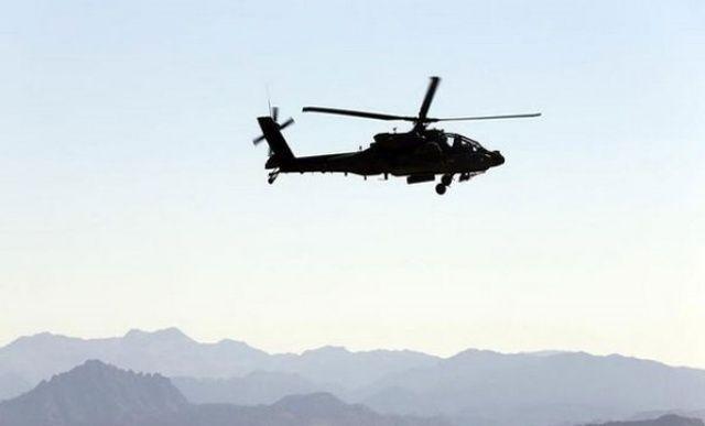 Haber az önce geldi! Afganistan'da askeri helikopter düştü