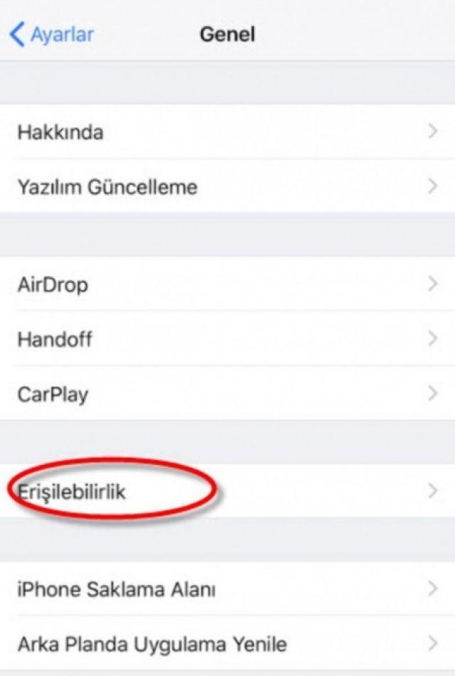 İşte iPhone'ların bomba özellikleri