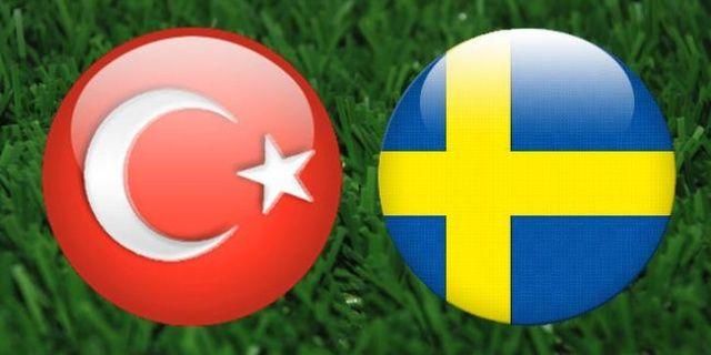 İsveç Türkiye maçı canlı izle