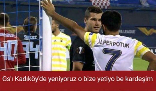Fenerbahçe Dinamo Zagreb'e kaybedince capsler patladı