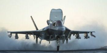 ABD'de F-35B savaş uçağı düştü