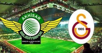 Akhisarspor - Galatasaray maçı geniş özeti golleri izle!