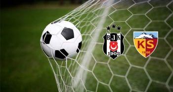 Beşiktaş Kayserispor geniş özeti golleri izle