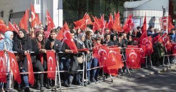 Cumhurbaşkanı Erdoğan Almanya'da böyle karşılandı