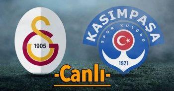Galatasaray Kasımpaşa Maçı canlı izle