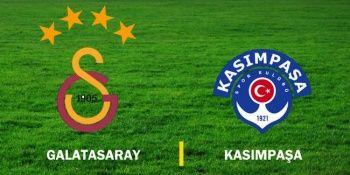Galatasaray-Kasımpaşa maçının saati değiştirildi