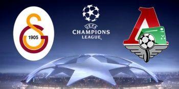 Galatasaray Lokomotiv Moskova maçı canlı izle