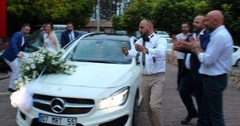 Gelin ve damadı beklerken içeri onlar girdi... Düğün karakolda bitti!