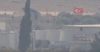 Halep'in batısındaki Türk üssü ilk kez görüntülendi!