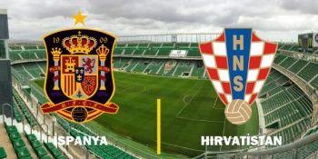 İspanya-Hırvatistan maçı canlı izle! Şifresiz veren kanallar