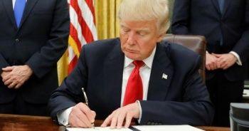 Trump'tan kriz çıkartacak şok hamle: İmzaladı...