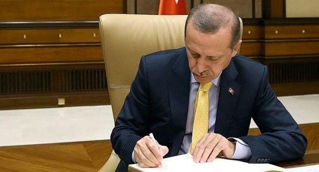 Cumhurbaşkanı Erdoğan imzaladı gece yarısı flaş atama kararları