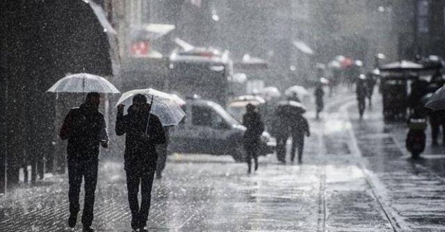 Meteoroloji'den son dakika sağanak yağmur uyarısı!