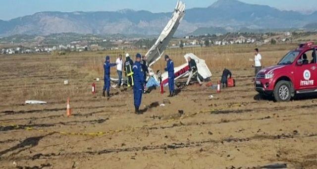 Antalya'da uçak kazası! Acı haber geldi