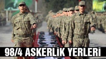 98/4 Askerlik Yerleri E Devlet SORGULAMA Ekranı giriş Sorgula