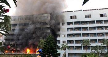 Alanya'da 4 yıldızlı otelde yangın!