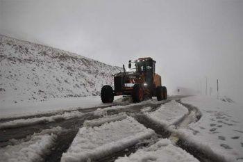 Fotoğraflar az önce geldi! Lapa lapa kar yağdı...