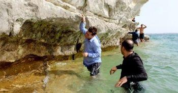 Balıkçılar tesadüfen buldu! Kaç yıllık olduğu bilinmiyor