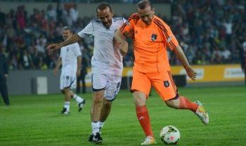 Cumhurbaşkanı Erdoğan'ın oynayacağı gösteri maçının kadrosu belli oldu
