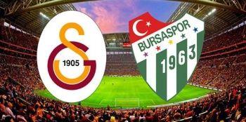 Galatasaray 1-1  Bursaspor maçı ÖZETİ İZLE