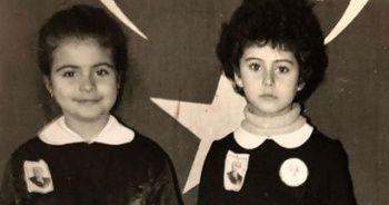 Güzel oyuncunun önlüklü pozuna beğeni yağdı... 'İlkokulda da böyleydim'