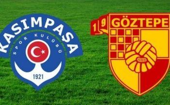 Kasımpaşa - Göztepe maçı özet ve golleri izle