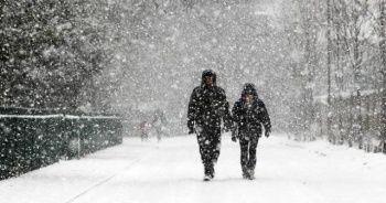 Meteoroloji'den 7 il için kar uyarısı