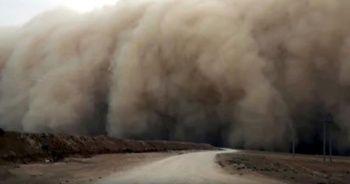 O fırtına Türkiye'ye geldi! Onlarca metre…