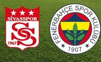 Sivasspor 0-0 Fenerbahçe Maçı özeti izle