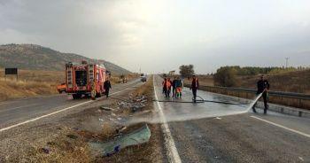 Son dakika! Kahramanmaraş'ta yolcu otobüsü devrildi 7 ölü, 24 yaralı