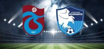 Trabzonspor BŞB Erzurumspor maçı özeti ve golleri izle