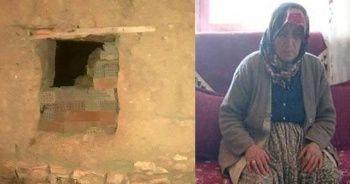 Yaşlı kadına dehşeti yaşattı!  Komşular yakaladı... Serbest kaldı