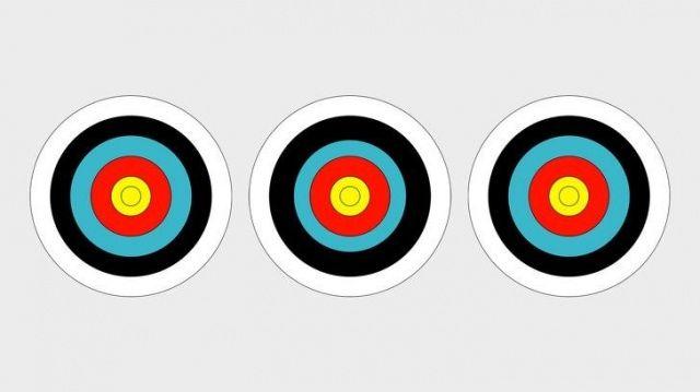 Dünyanın en zor dikkat testi! Hedef tahtalarından hangisi farklı?