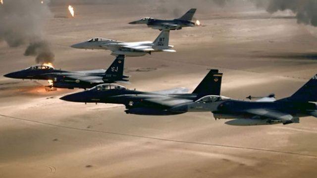 Savaş uçakları vurdu! Gözler ABD'de...