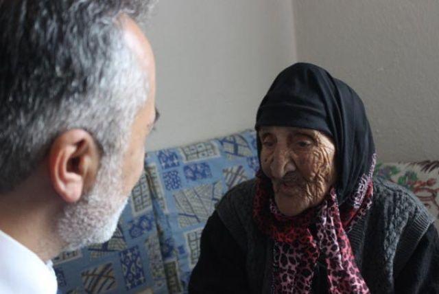 Yaşını duyunca kulaklarına inanamadı! Torunu bile 76 yaşında