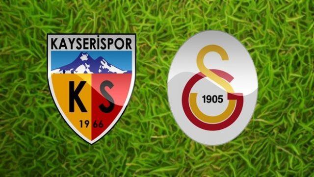 Kayserispor - Galatasaray MAÇI canlı izle! Kayseri GS maçını şifresiz veren kanallar izle
