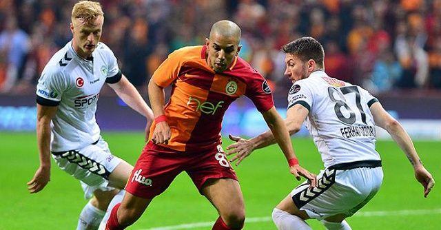 Galatasaray - Atiker Konyaspor maçı özeti golleri izle